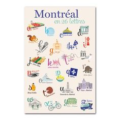 Montréal en 26 lettres // I love this! for Alice & Flore Studios Source by aliceandflore Quebec Montreal, Montreal Travel, Montreal Ville, Canada, Vancouver, Toronto, Technology World, Restaurant Guide, Travel Activities