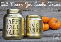 Fall Mason Jar crafts
