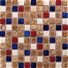 TST Ceramic Mosaics Fambe Flower Chocolate Beige Art Mosaic Tiles Glazed Kitchen Bath Wall Floor Tiles  http://www.tstmosaictiles.com/index.php?route=product/product&product_id=385&search=TSTGPT015