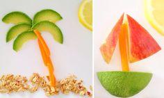 Fun with Food Art | via The Honest Company blog