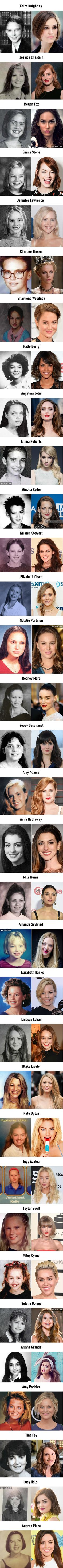 33 Female Celebrities' Yearbook Photos