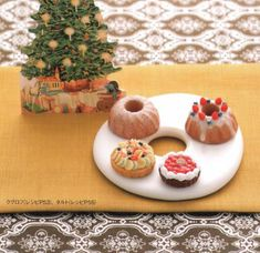 Japanese clay craft DIY miniature fake sweets for dollhouse kawaii
