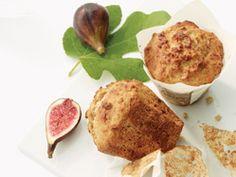 Honey, Fig & Yogurt Muffins with Walnuts - Recipes Healthy Recepies, Healthy Snacks, Healthy Breakfasts, Yogurt Muffins, Flaxseed Muffins, Baking Muffins, Importance Of Healthy Eating, Healthy Breakfast Muffins, Breakfast Club