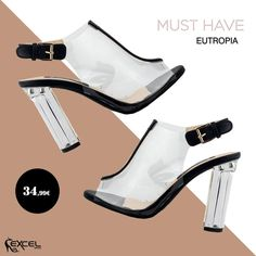 MUST HAVE..., Eutropia 34,99€ 🚚 Δωρεάν μεταφορικά για Ελλάδα #excelshoes #ss17 #spring #ss2017 #shoes #women #womenfashion #fashion #fashionista #shoelovers #platforms #style #thessaloniki #papoutsia #gunaika #παπουτσια #moda #heels #outfit #springmood #skg #musthave