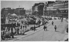 Postcards and Viewcards: 1950s Postcard Of The Promenade, Dover, Kent, England #postcards