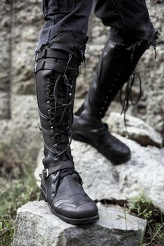 6c5fdfccf5d29 166 Best LARP-Like Footwear images in 2019 | Shoe, Boots, Leather