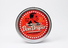 Very pleasing mild pineapple fragrance in the style of the 1930s. #dondraper Pomade.com #pomade