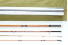 Aroner Hunt Pattern Salmon Rod 8'6″ 3/2 #8/9-Bamboo Fly Rod