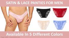 17 Satin Panties For Women And 8 For Men - Underwear Lingerie For Men, Cute Lingerie, Lingerie Outfits, Mens Satin Underwear, Man Underwear, Sexy Gay Men, Feminized Boys, Plus 8, Men Dress