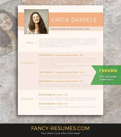 39 best Free Resume Templates images on Pinterest | Cover letter ...