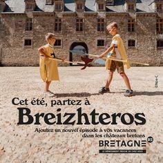 Découvrez toutes les appropriations des acteurs du tourisme bretons dans le cadre de la campagne #DépaysezVousenBretagne  Création : Comité Régionale du Tourisme Bretagne Rural Area, Brittany, Tourism, Vacation