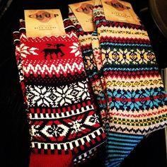 J. Crew holiday socks