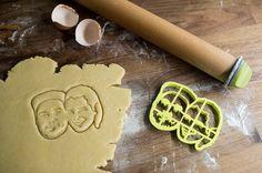 Taglierina del biscotto coppie personalizzato di Copypastry