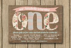 Chalkboard printable bridal shower invite by DulceGracePrintables
