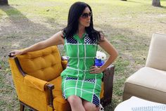 Vintage and super sleek  sheath dress.