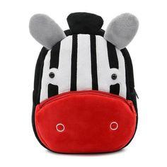 ad34912a04e 2017 Plush Children Backpacks Kindergarten Schoolbag 3D Cartoon Monkey  Animal Kids Backpack Children School Bags for Girls Boys