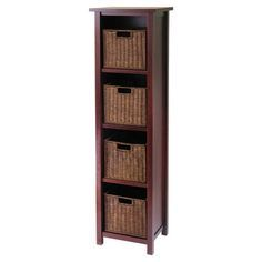 cherry tall thin cabinet - Google Search