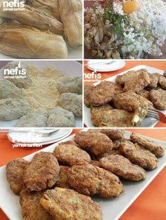 Közlenmiş Patlıcan Köftesi Malzemeler 4_5 adet orta boy patlıcan 1 adet soğan 1 adet yumurta 3 _4 yemek kaşığı rendelenmiş kaşar peyniri 2 yemek kaşığı... - yahsi mutfak - Google+
