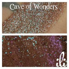 Cave of Wonders Brown with Blue Shimmer by InspiringLoveInside