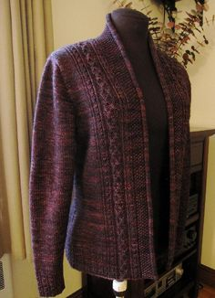 Ravelry: Rhinecliff Cardigan pattern by Valerie Hobbs Knit Cardigan Pattern, Sweater Knitting Patterns, Knit Patterns, Love Knitting, Dress Gloves, Yarn Brands, High Collar, Ravelry, Pulls
