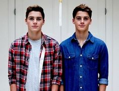 Jack and Finn Harries - Barbara, I pinned this to make you mad :)