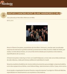 Evento no Club Just Cavalli Hollywood no Portal Nordeste News - Abril 2013