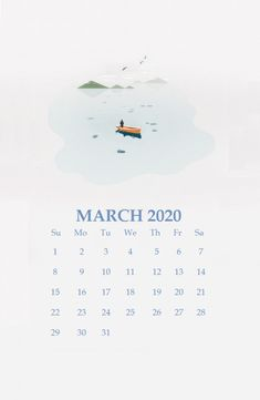 Do you already have the March 2020 calendar on your iPhone? This is the right time, because we provide iPhone Calendar Wallpaper March 2020 free without being collected at any cost. Free Printable Calendar Templates, Monthly Calendar Template, Monthly Calendars, Calendar March, Cute Calendar, Calendar 2020, Calendar Wallpaper, Desktop Calendar, Cute Cartoon Wallpapers