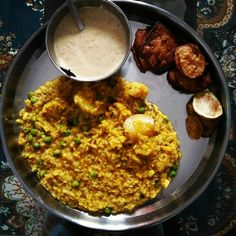 Bengali khichuri Indian Meal, Indian Food Recipes, Ethnic Recipes, Fried Rice, Fries, Meals, Power Supply Meals, Meal, Indian Recipes