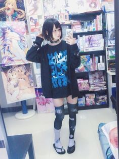 "Menhera/yamikawaii/gurokawa thread - ""/cgl/ - Cosplay & EGL"" is imageboard for the discussion of cosplay, elegant gothic lolita (EGL), and anime conventions. Japanese Street Fashion, Tokyo Fashion, Harajuku Fashion, Kawaii Fashion, Lolita Fashion, Cute Fashion, Korean Fashion, Fashion Outfits, Fashion Fashion"