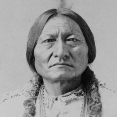 Chief Sitting Bull - Teton Dakota Indian Chief. Joined first war party at age 14 and gained a reputation of fearlessness in battle. United the Souix tribes in the struggle for survival on the North American Great Plains. He became principal chief, with Crazy Horse, for the northern hunting Sioux. Sitting Bull was made principal chief of the entire Sioux Nation about 1867  Died in 1890