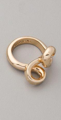 Maison Martin Margiela Twist Ring thestylecure.com