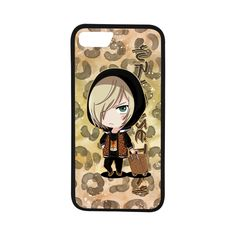 "Yuri Leopard Rubber Case for iPhone 7 (4.7"")"