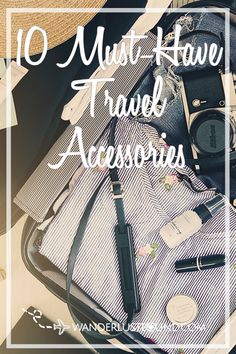 10 Must-have accessories for everyday travel on your next long haul flight. These are the travel accessories I can't live without from what luggage to pick to my favorite iPhone camera lens. Travel Advise, Travel List, Carry On Bag Essentials, Hard Sided Luggage, Must Have Travel Accessories, Iphone Camera Lens, Travel Size Toiletries, Travel Must Haves, Wanderlust Travel