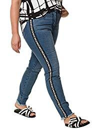 Women& Plus Size Glitter Side Stripe Jeans 718385 Birkenstock Outfit, Gym Clothes Women, Striped Jeans, Birkenstocks, Outfit Jeans, Womens Workout Outfits, Casual Winter Outfits, Casual Chic Style, Jeans Style