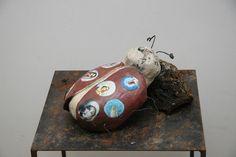 Poppets Interpretation eines Marien-Käfers Clay, Pottery, Ceramics, Art, Objects, Sculptures, Ceramica, Ceramica, Pottery Marks