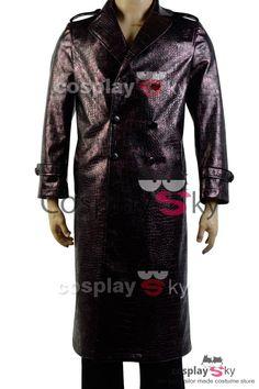Escuadrón Suicida Jared Leto Joker Abrigo Cosplay Disfraz_1 #cosplaysky