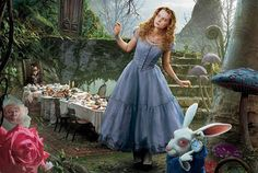 """alice in wonderland"" with johnny depp"