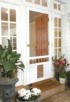 Doggie delight door by jeld wen allow your pet come and - Exterior french doors with pet door ...