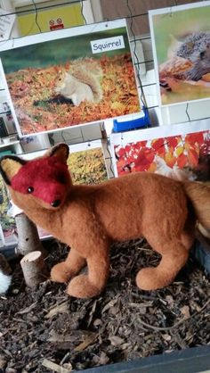 Forest animals at Chadwell Pre-school