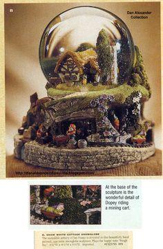 I love Disney snow globes!!!
