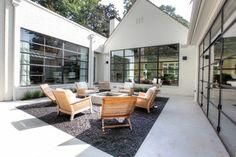 Sandy Springs #2 - transitional - Patio - Atlanta - Norwood Architects