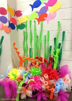How to Make a Stunning Coral Reef for you Under the Sea Party, Mermaid Party, or…