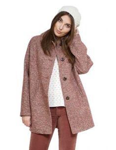 Manteau hiver femme tissu