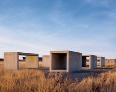 """15 Untitled Works in Concrete"" by Donald Judd (1980-1984)"