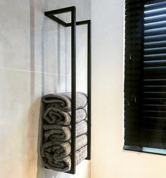 TLF towel holder black interior, Informations About TLF Handtuchhalter schwarz Interieur – Badezimmer DIY & Ideen Pin You can easily use my … Small Bathroom, Small Bathroom Decor, Bathroom Decor, Minimalist Small Bathrooms, Bathrooms Remodel, Towel Holder, Towel Rack, Diy Bathroom Remodel, Diy Interior