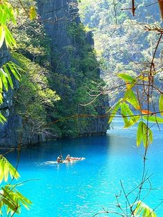 Something I've always wanted to do. Kayak down a river with a view....ahhh! Indonesia