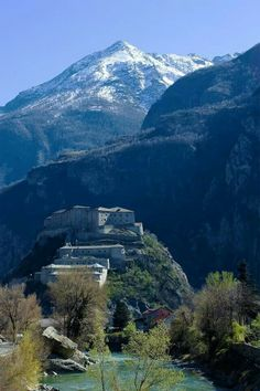 Forte di Bard, Bard, Aosta, Italia