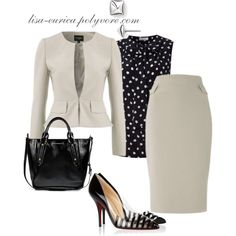 """Business Monday"" by lisa-eurica on Polyvore"