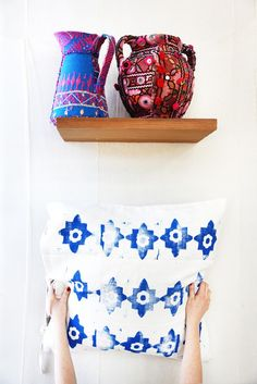 A Block Print Pillow DIY