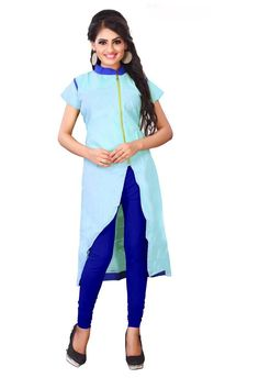26a2cbcc8b Shop for stylish Floor Length Gown Style Kurtis on Fashionous at  https://fashionous